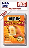 HeatMax HotHands Hand Warmers, 12 Count (6 Pack with 2 Warmers per Pack) Up to 8 Hours of Heat