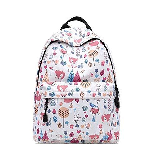 ZQY waterdichte student tiener rugzak schattig geometrisch laptop tas meisje schooltas reizen casual rugzak handtas