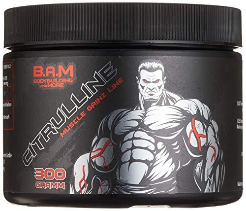 B.A.M. Citrulline Malate Booster Supplément