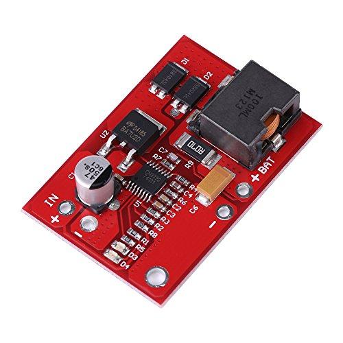 MPPT Solar Charge Controller, 12V MPPT Solar Panel Controller 3 Series Lithium Li-ion 18650 Módulo de Carga de Batería