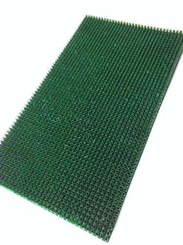 giacomini e gambarova Klip-Felpudo para césped : 40 x 70 cm, Verde, 40X70