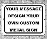 BA IMAGE Personalized Custom White 007 Aluminum Metal...