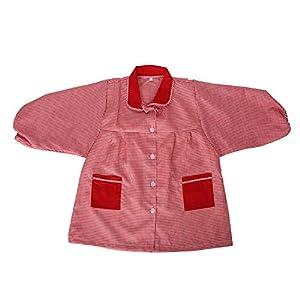 MISEMIYA - Baby 609 Bata Infantil Uniforme GUARDERIA - Rojo, 2 Años