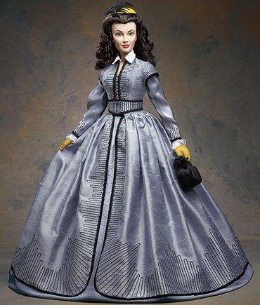 Scarlett O'Hara Vinyl Portrait Doll - Shanty Town