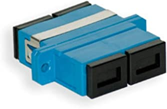 SC Fiber Coupler Female/Female | Duplex Multimode / Singlemode Compatible SC to SC Female Fiber Optic Couplers | FiberCablesDirect | sc/sc female/female dx coupler single-mode mm sm