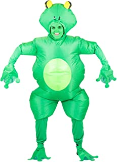 Adult Inflatable Frog Toad Fancy Dress Costume