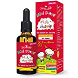 Natures Aid Multi-Vitamin and Mineral Drops, Daily Multivitamin, Infants and Children, Sugar Free, 50 ml