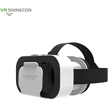 BIYI Realidad virtual VR Box VR SHINECON 5.0 Gafas Auriculares ...