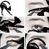 Momorain Mujeres Cat Line Eye Makeup Eyeliner Plantillas de Plantillas únicas Kits de Herramientas...