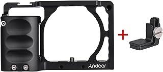 Andoer Video Camera Jaula Jaula Rig Sistema Filmación Aluminio Kit de Aleación De Aluminio A6500 para Sony A6000 A6300 A6500 NEX7 ILDC para Montar El Monitor De Micrófono Accesorios (#3)