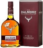 The Dalmore 12 Jahre Single Malt Scotch Whisky mit Geschenkverpackung (1 x 0,7l) -