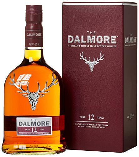The Dalmore 12 Jahre Single Malt Scotch Whisky mit Geschenkverpackung (1 x 0,7l)