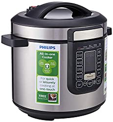 Philips HD2137/62 Digital All-in-One Cooker 6L, 1000W