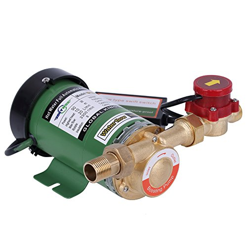 BOKYWOX 110V 90W Home Water Pressure Booster Pump Water Pump for Whole House Shower System (W15GR-10)