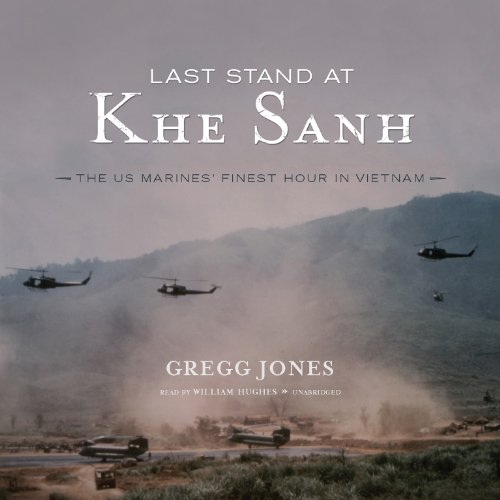 Last Stand at Khe Sanh audiobook cover art