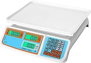 MKJYDM 30 kg de báscula electrónica pequeña estación de Carga Comercial casa de Alta precisión kg Vender Verduras y Frutas Mesa Escala electrónica