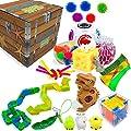QEWRT Fidget Toy Sensorial Set 23 PCS Pack Juguetes para aliviar el estrés Autismo Alivio de la ansiedad Stress Pop Bubble Fidget Toys para niños Adultos de QEWRT