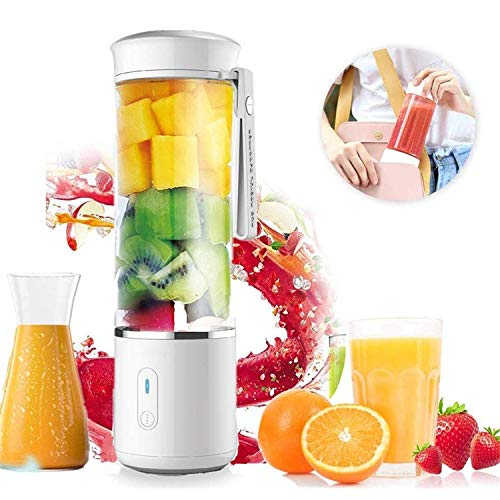 Purchase HHRen Portable Mini Electric Juicer, Smoothie, Juice, Milk Shake, USB Rechargeable Multifun...