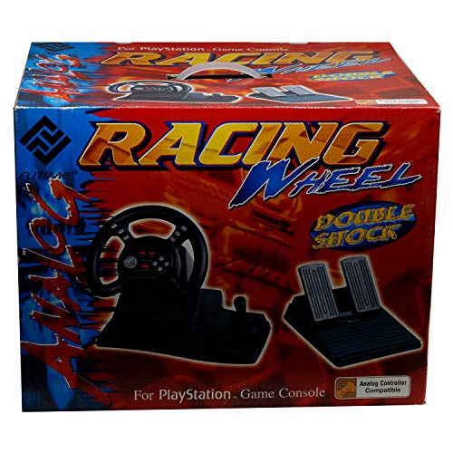 VOLANTE, CAMBIO Y PEDALES PSX RACING WHELL FOR PLAYSTATION GAME CONSOLE