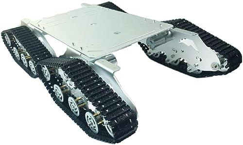 SM SunniMix TS900 Tank Auto Chassis D fungsauto Für Arduino DIY Spielzeug , Golden -Chassis-Metallhalterung