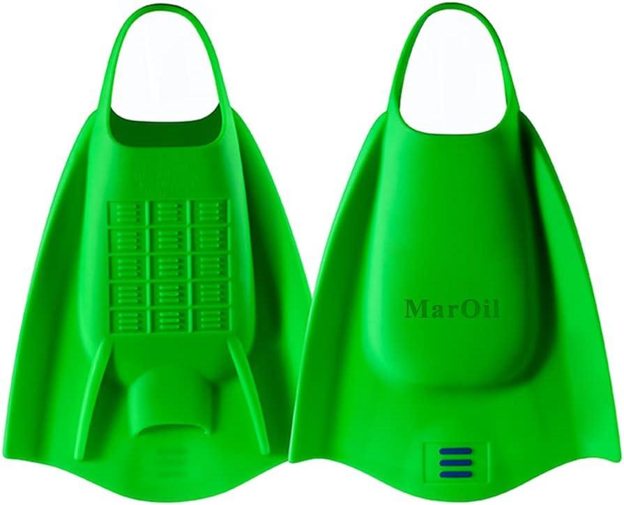 MarOil Swimming Flippers Swimming Fins TPR Snorkeling Foot Flipp