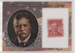 Theodore Roosevelt #10/90 (Trading Card) 2018 Historic Autographs POTUS - Stamps #ST-TR