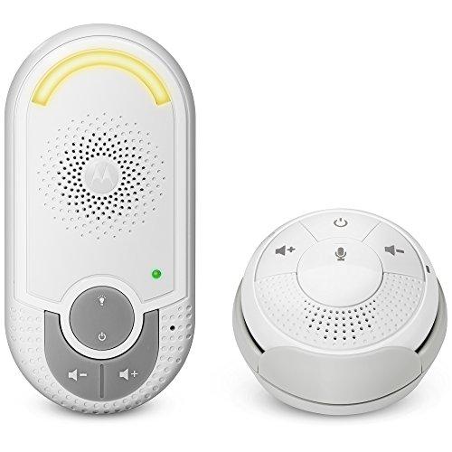 Motorola MBP 140 - Vigilabebés audio con unidad para bebés 'plug-n-go' y pequeña unidad...