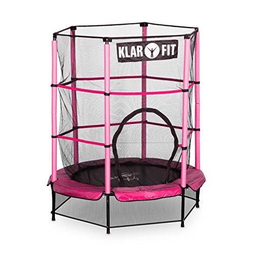 Klarfit Rocketkid cama elástica infantil con red de seguridad (140 ...