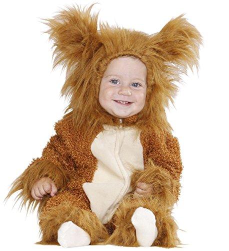 Widmann Generique - Déguisement Lion en Peluche bébé