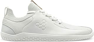 Vivobarefoot Primus Knit Lux, Womens Leather Premium Lifestyle Shoe, with Barefoot Sole
