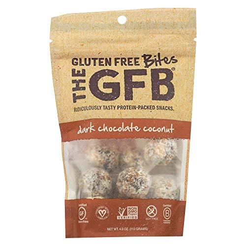 The Gluten Freeb Bites - Dark Chocolate Coconut - Case of 6-4 oz