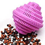 BTFLKNS Eco-Friendly Laundry Balls, Premium Washing Ball, Add Double The Ceramic Balls Again, 2000 Times Super Laundry Balls, All Natural No-Chemical Detergent(Large,Pink)