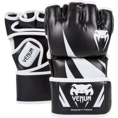 Venum Challenger Gants de MMA, Mixte Adulte, Noir/Blanc, M