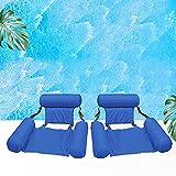 Cama flotante portátil plegable hinchable para piscina, cama de playa, deportes...