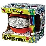 Franklin Sports I-Color - Balón de fútbol, baloncesto o fútbol - 30202, Básquetbol