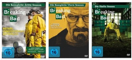 Breaking Bad - Staffeln 3+4+5.1 [11 DVDs]