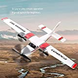 AKDSteel FX801 RC Plane EPP Foam Glider Airplane Gyro 2.4G 2CH RTF RE-Mote Control Wingspan Aircraft Funny Boys Airplanes Interesting Toys for Car Toys