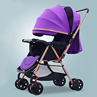 Barnvagnar med vändbart styre, bärbar barnvagn ultralätt nyfödd buggy-b