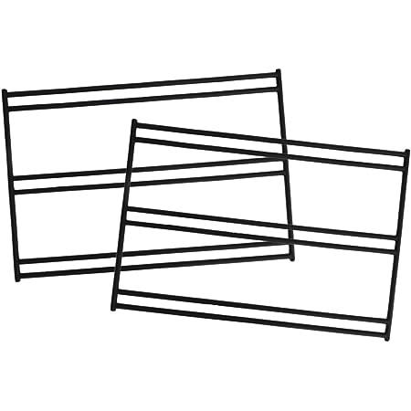 DOD(ディーオーディー) テキーラレッグL プレート4枚でワイドテーブルに【2脚セット】 TL5-606-BK
