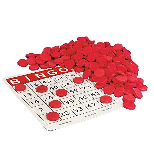 S&S Worldwide Quiet Bingo Chips