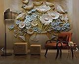 Quadri moderni soggiorno xxl poster Vaso in rilievo Flower Wall Mural Photo Wallpaper Soggiorno Stampato Carta da parati Carta da parati Floral Murales