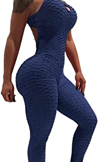 XFKLJ Sports Bra Yoga Pants Women Yoga Set Siamese High-Rise Hips Trousers Fitness Clothing Tracksuit Women's Hot Bandage ...
