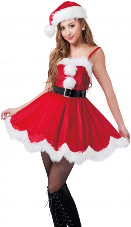 buscando agente de ventas CVCCV Disfraces de Navidad Disfraces de de de Navidad para Mujeres Adultas Disfraces de Halloween Disfraces de Navidad Tela de algodón (Rojo)  servicio de primera clase