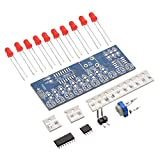 ARCELI Integrated NE555 + CD4017 Light LED Que Fluye módulo LED Rojo DIY Kit Set TE662