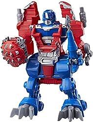 4. Playskool Heroes Transformers Rescue Bots Knight Watch Optimus Prime