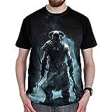 Skyrim - Dragonborn T-Shirt schwarz - XL