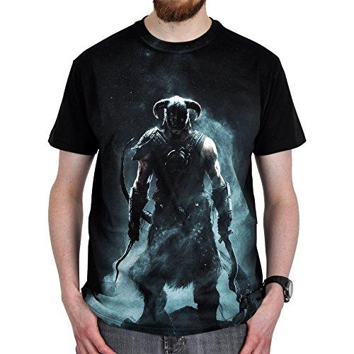 Skyrim - Dragonborn T-Shirt schwarz - L