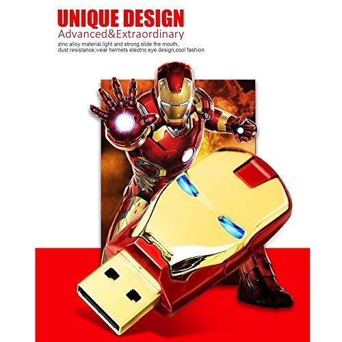 Memoria Flash USB2.0,Tarjeta de Memoria Unidad Flash USB LED Pen Drive 8gb 16gb 32gb 64gb 128gb (128gb, Oro)