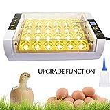 S SMAUTOP Couveuse Automatique, Incubateur de 24 œufs Incubateur d'oeufs entièrement Automatique numérique avec contrôle de température et Affichage LED, pour Volaille, Caille, Oie Canard, Pigeon