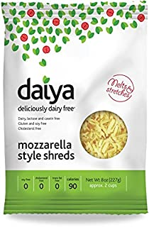 Daiya Mozzarella Style Shreds, 8 Ounce -- 12 per case.